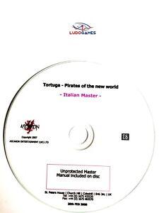 Tortue-Pirates-Nouveau-World-des-Rapports-non-Proteges-Master-Disque-It-PC-Retro