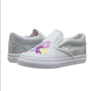 e0b116d423 Image is loading Vans-CLASSIC-SLIP-ON-Mermaid-Multi-White-Toddler-
