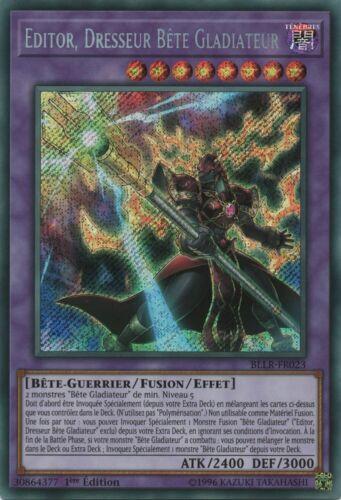 Yu-Gi-Oh   Editor Dresseur Bête Gladiateur BLLR-EN023