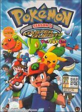 DVD Pokemon Season.5 Master Quest (TV 1 - 64 End) + Free Gift