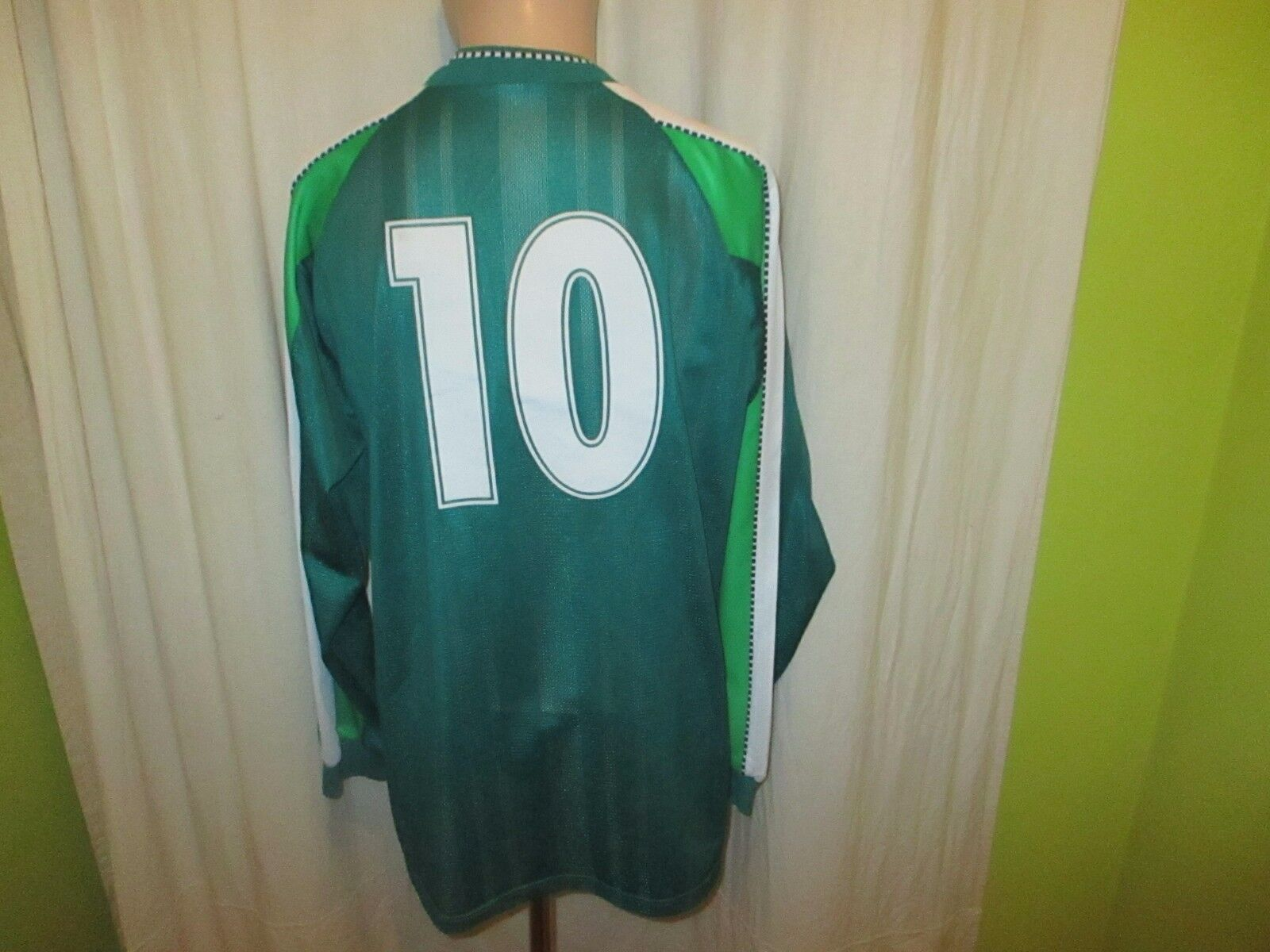 Werder Werder Werder Bremen Original Puma Langarm Trikot 1998 99  o.tel.o  + Nr.10 Gr.L TOP 8a9da2