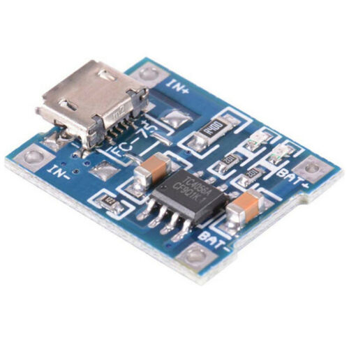 2PCS 1A 5V TP4056 Lithium Battery Charging Module USB Board Electronic.Compon mZ