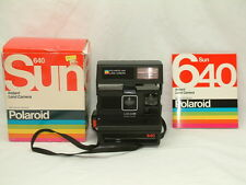 Vintage Polaroid 640 Instant 600 Film Land Camera Made in USA Fully Operational