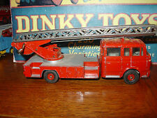 Dinky #568 Berliet Fire Escape- Rare French Version!!!