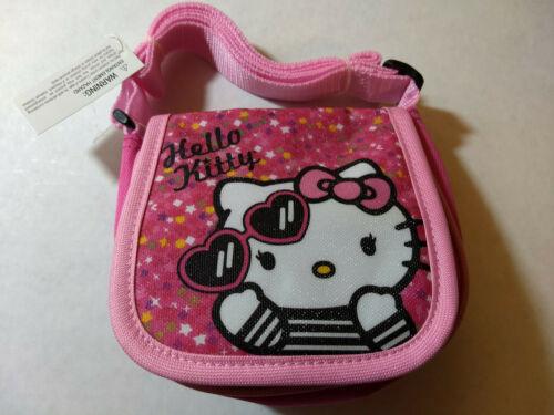 Hello Kitty GIRLS Handbag Coin Purse shoulder Bag 6/'/' X 5 1//2/'/'