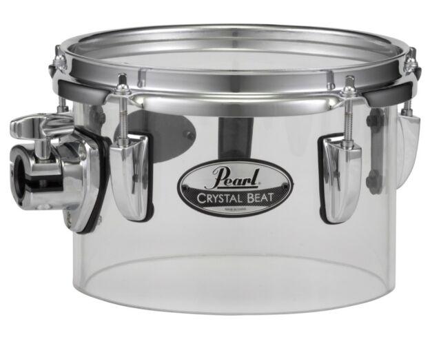 "Pearl Crystal Beat 14/""x10/"" Single-Headed Tom Ultra Clear"