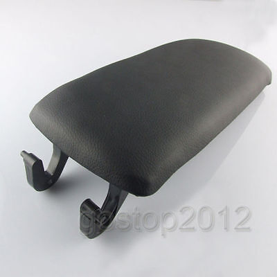 Center Arm Rest Console Armrest Black Cover Lid For Audi A4 A6 S4 Allroad 00-06