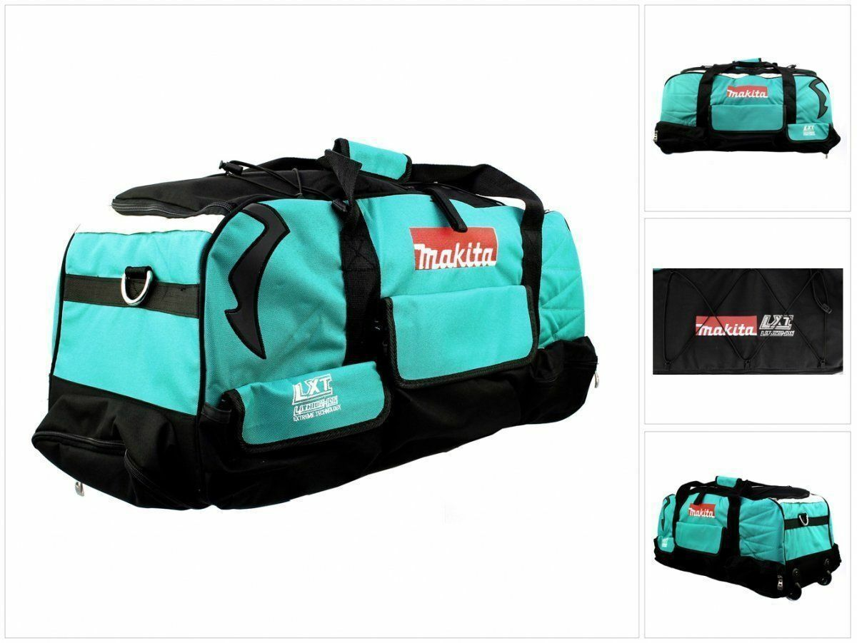 NEW Makita 831279-0 LXT600 Heavy Duty Padded ToolBag Tool Bag WHEELS
