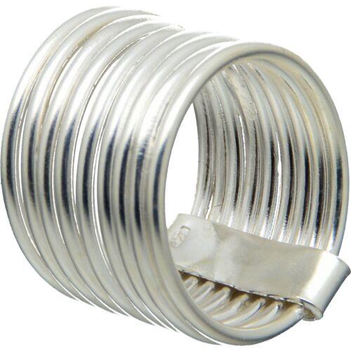 Design Stoodio Handmade 925 Sterling anillo de plata stacks 9