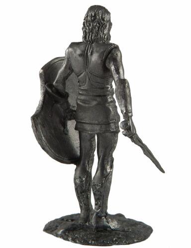 Greece metal sculpture 54mm GR19 Achilles the hero of the Trojan War.