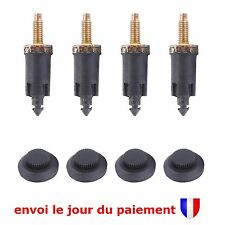 Kit 4 Clips + 4 Vis de Fixation Cache Moteur 2.0L HDi pour Peugeot Fiat Citroën