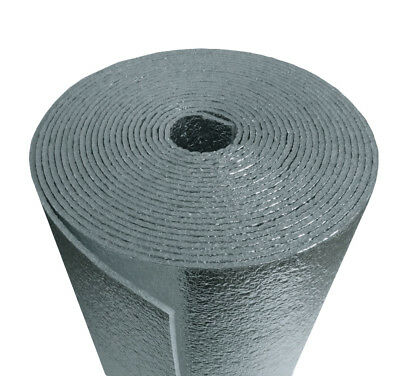 200sqft NASATECH Reflective Foam Core Insulation Pipe HVAC Duct Wrap  24