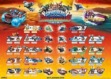 Skylanders Superchargers Complete Figure & Vehicle Checklist Game Poster 28 x 20