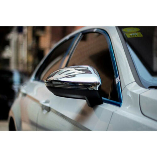 ABS Chrome Side Rearview Back Mirror Cover Mirror Trim For VW Touran 2016-2017