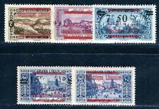 GRAND LIBAN 1928 Yvert 111-115 * SATZ (09123