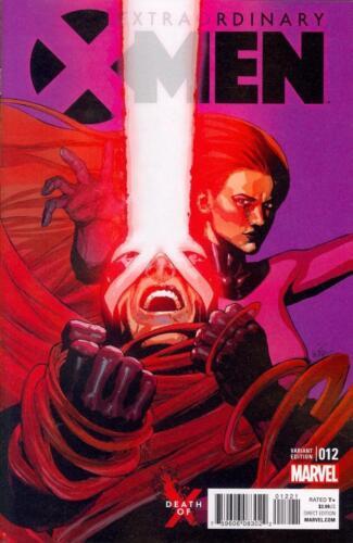 Extraordinary X-Men #12 Yu Death of X Var  NEW!!!