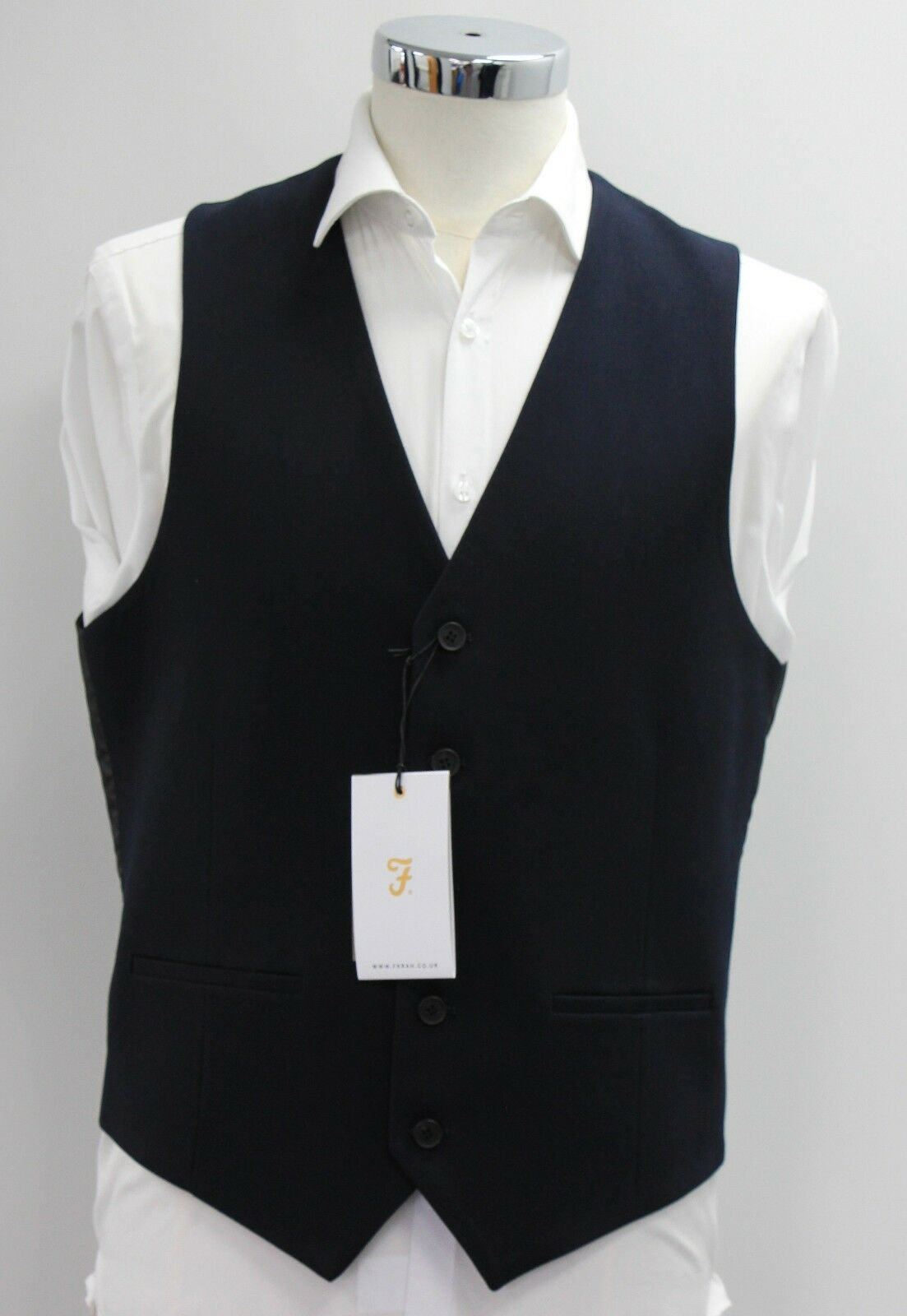 Men's Farah, Navy waistcoat (42R)... sample 2249