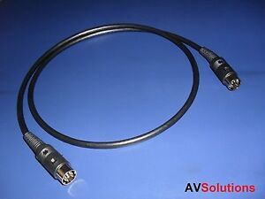 7-Mtrs-Cable-for-Bang-amp-Olufsen-B-amp-O-DataLink-Audio-Aux-Link-HQ-Black