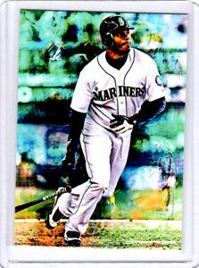 2021 Ken Griffey Jr. Seattle Mariners Baseball 1/1 ACEO Fine Art Print Card By:Q
