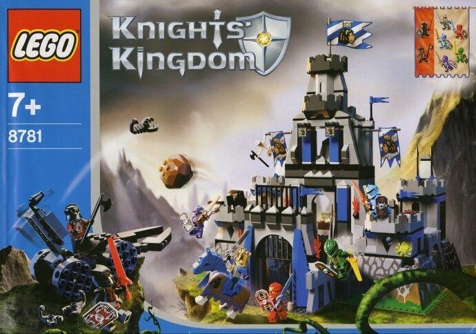 Lego Castel 8781 The Castle of Morcia (2004) Con Scatola  Visita il mio Negozio