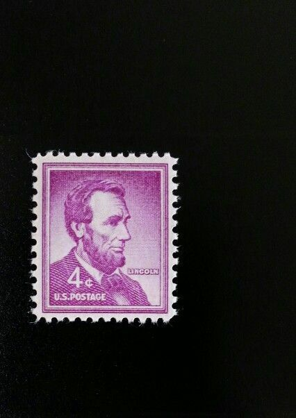 1954 4c Abraham Lincoln, United States 16th President S