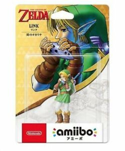 NEW-Nintendo-Amiibo-Link-The-Legend-of-Zelda-Ocarina-of-Time-Switch-3DS-Japan