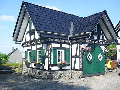 Top Fachwerkgarage, Fachwerkhaus, Gartenhaus, Grillhütte PN49