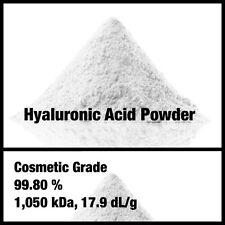 Ácido Hialurónico 1g Polvo, 99.80%, grado de cosméticos, hágalo usted mismo su piel saludable Suero!