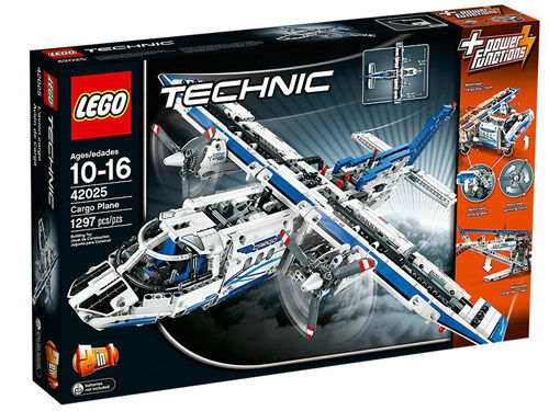 EXP SHIP LEGO Technic 42025 Cargo Plane Building Set New In Box Sealed