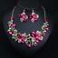 Fashion-Women-Pendant-Crystal-Choker-Chunky-Statement-Chain-Bib-Necklace-Jewelry thumbnail 88