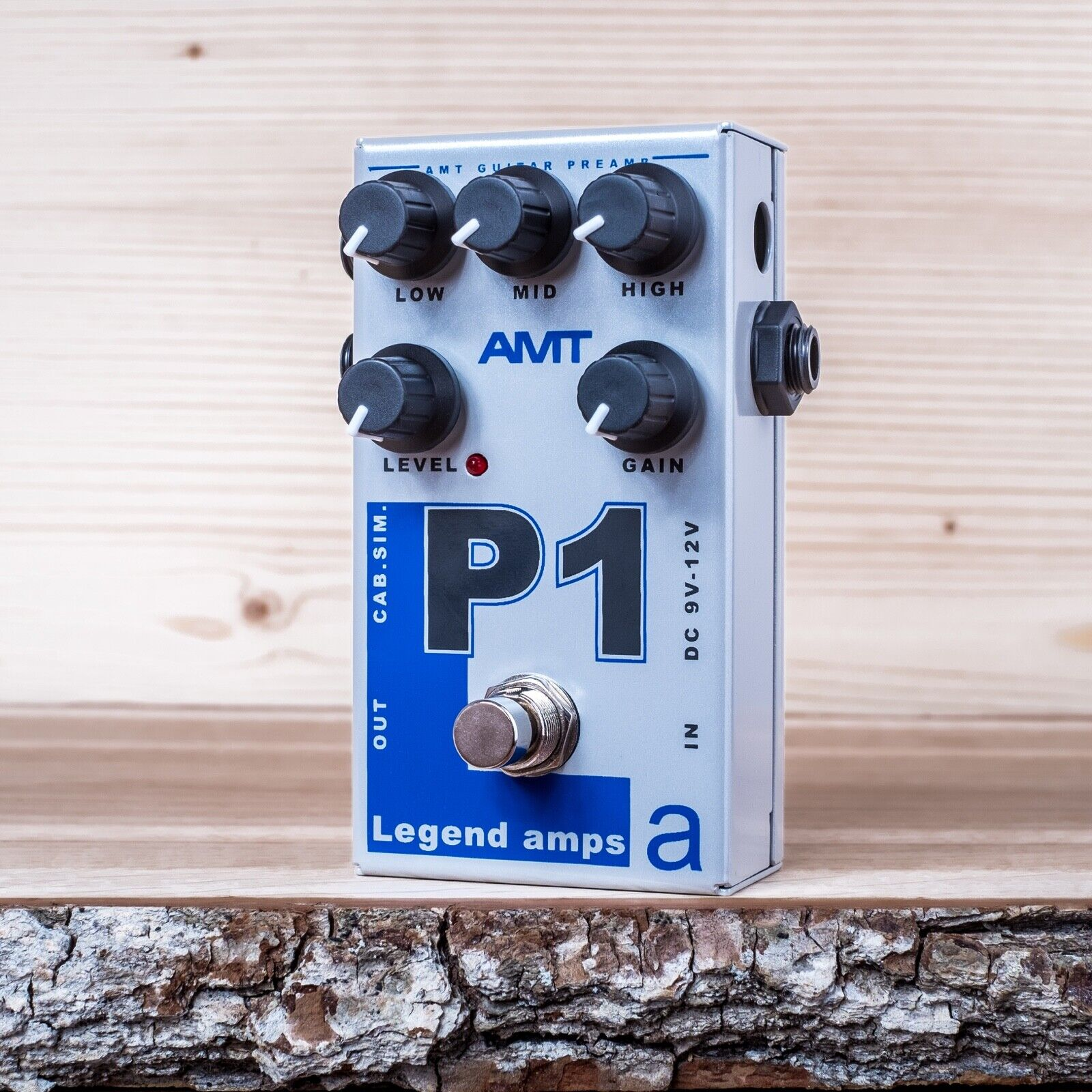 AMT Electronics P1 (Peavey) - guitar preamp (distortion overdrive) effect pedal