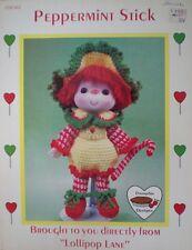 Dumplin Designs Lollipop Lane Peppermint Stick Crochet Doll Pattern