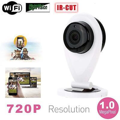 720P HD Mini Wifi IP Camera P2P Baby Monitor Home Security Mobile Remote Cam GR