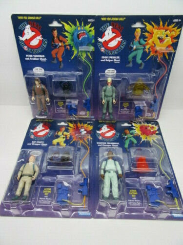 The-Real-Ghostbusters-Kenner-2020-Walmart-Exclusive-4-Figure-SET-In-Hand-NEW