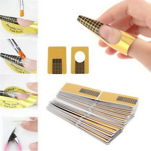500Pcs-Nail-Art-Form-Sticker-Self-adhesive-Extension-Guide-Acrylic-Tips-UV-Gel