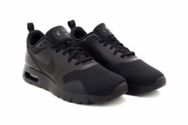Nike Air Max Tavas (GS) U.K 5.5 EUR 38.5 BR 37 CM24 Svart Noir r.r.p SEK 949,99