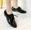 Womens-Lace-Up-Flats-Oxfords-Shoes-Pointed-Toe-Patent-Leather-Ladies-Plus-Size thumbnail 9