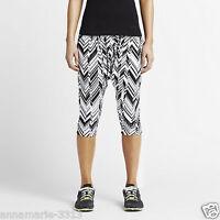Women's Nike Freeze Frame Mezzo Capri Yoga Dance 643316 100 Size Medium