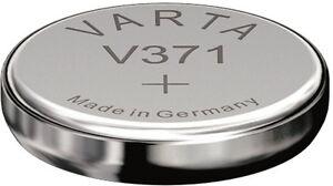 1 Varta Watch V 371 / SR920 SW Primär Silber Uhrenbatterie Blister
