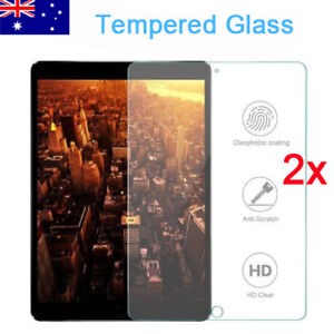 """2x TEMPERED GLASS Screen Protector For Apple iPad 6th Gen 9.7"""" 2018 A1893 A1954"""