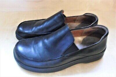 BIRKENSTOCK FOOTPRINTS Black Leather Napoli Loafers 41 Men 8 8.5 Women 10 10.5   eBay