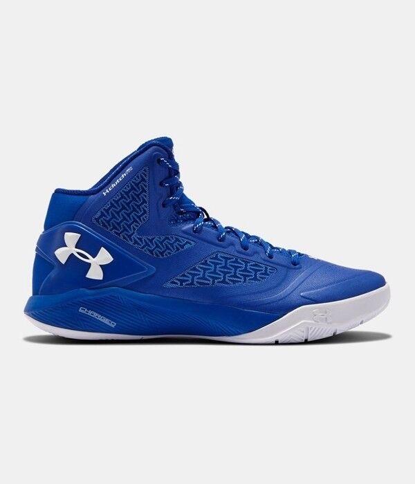 Men's Under Armour Clutchfit Drive 2 Basketball Shoes - Blue/White - NIB!