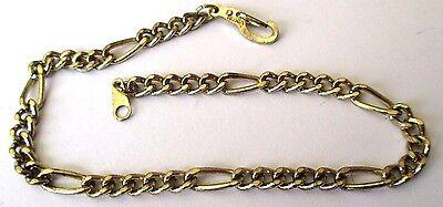 Openhartig Bracelet Fin Gourmette Bijou Rétro Maille Cheval Couleur Or Poli Bel Effet 4455