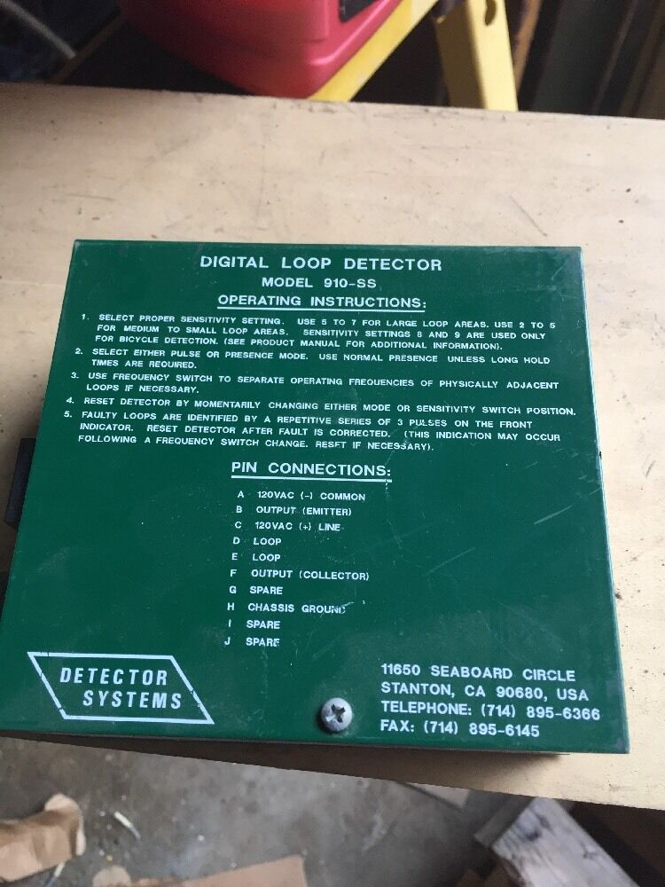 Econolite 910SS Digital Loop Detector
