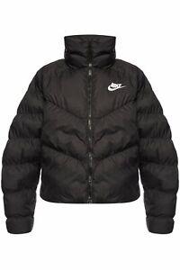Nike Women's Sportswear Synthetic Fill Puffer Jacket Black ...