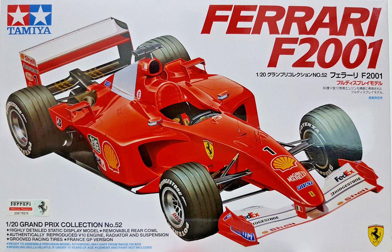 Ferrari F2001  - Tamiya Kit 1 20 20052 - Nuovo