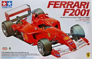 Ferrari-F2001-Tamiya-Kit-1-20-20052-Nuovo