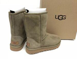 0b23f241e2f Details about UGG Australia CLASSIC SHORT II 2 1016223 Antilope Blue  Women's Boots Sheepskin
