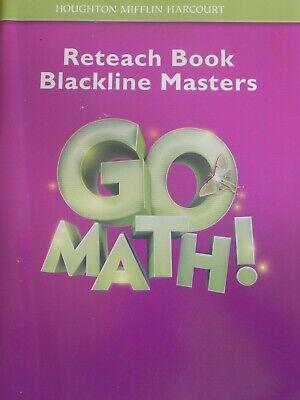 3rd Grade 3 Go Math! Reteach Book Blackline Masters ...