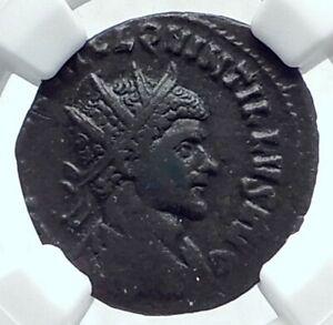 QUINTILLUS-Authentic-Ancient-270AD-Rome-Genuine-Roman-Coin-VICTORY-NGC-i77653